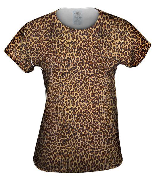 cheetah skin top