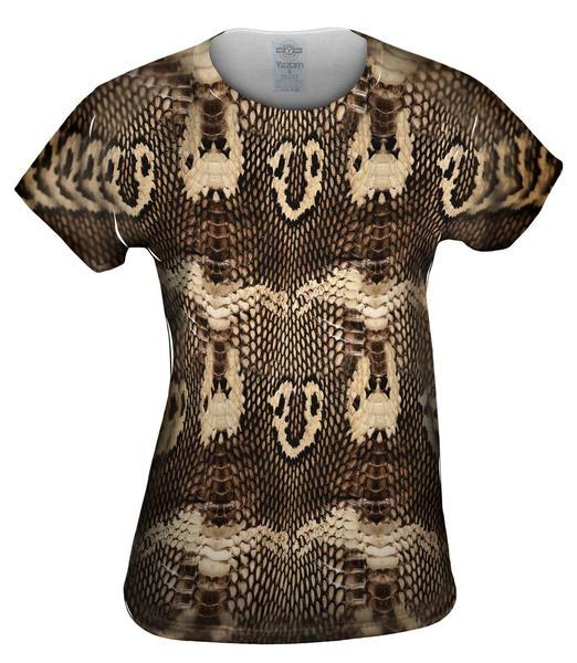 cobra snake skin womens top