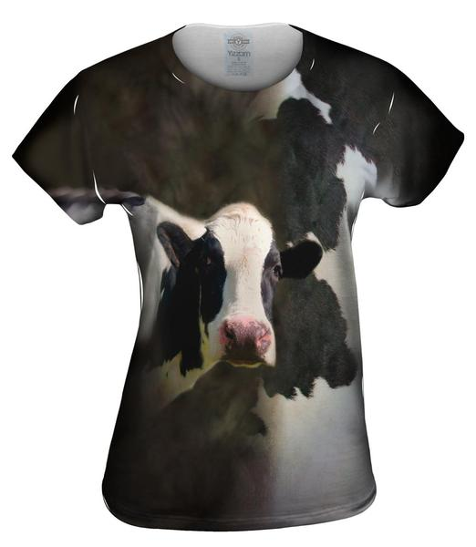 cow skin womens top