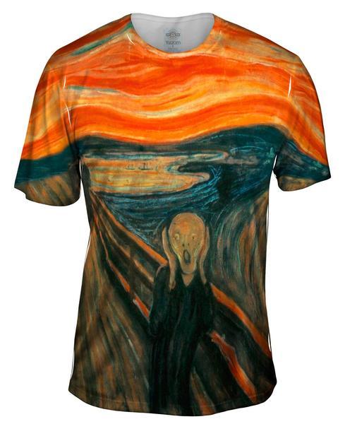 the scream men's t-shirt