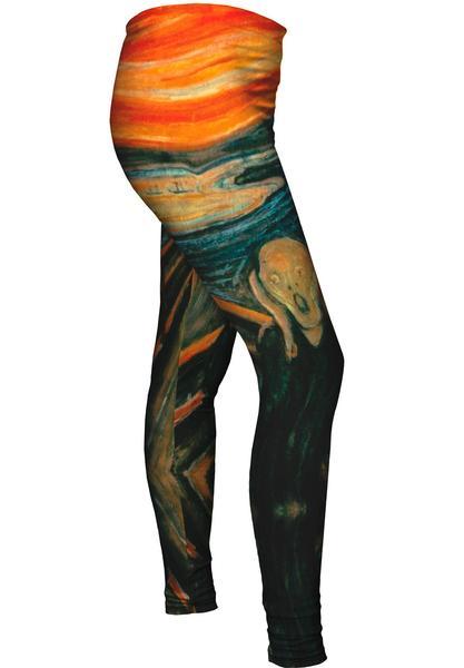 the scream women's leggings