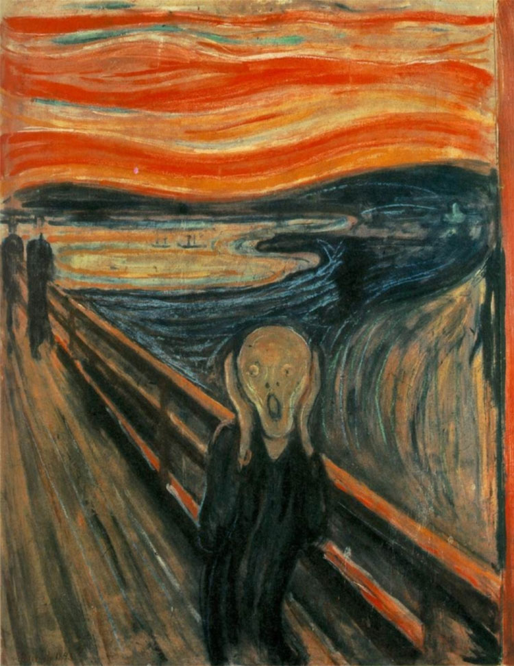 the scream edvard munch original