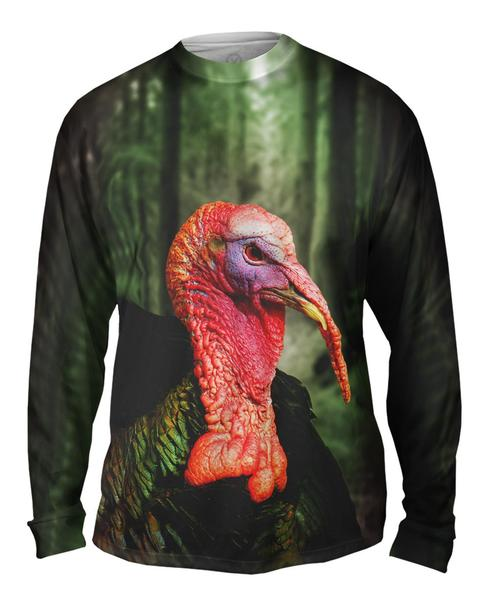 Forest Turkey Mens Long Sleeve