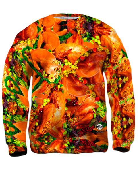 Thanksgiving Turkey Mens Sweatshirt
