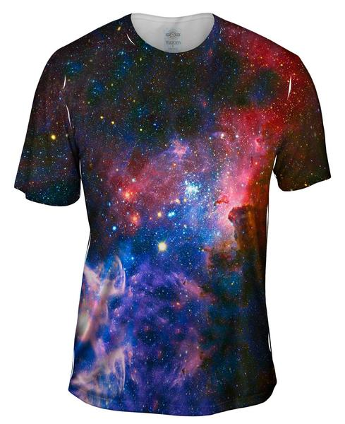 Carina Nebula Space Galaxy Men's T-Shirt
