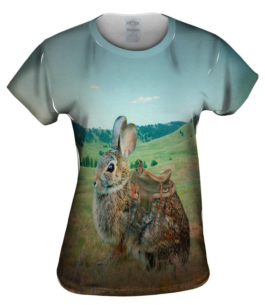 Ranch Bunny Womens T-shirt