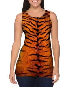 Tiger Skin Womens Tank