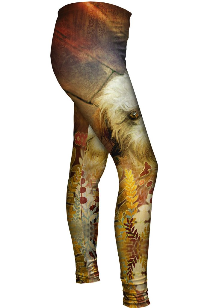 Shih Tzu Floral Leggings