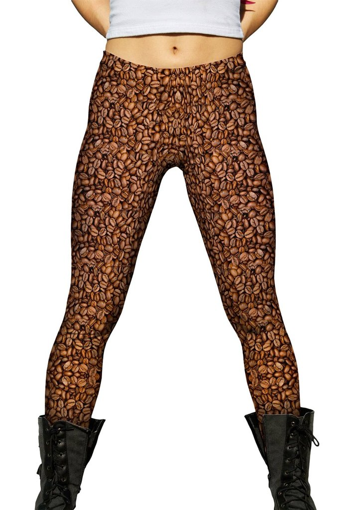 Coffee Bean Womens Leggings