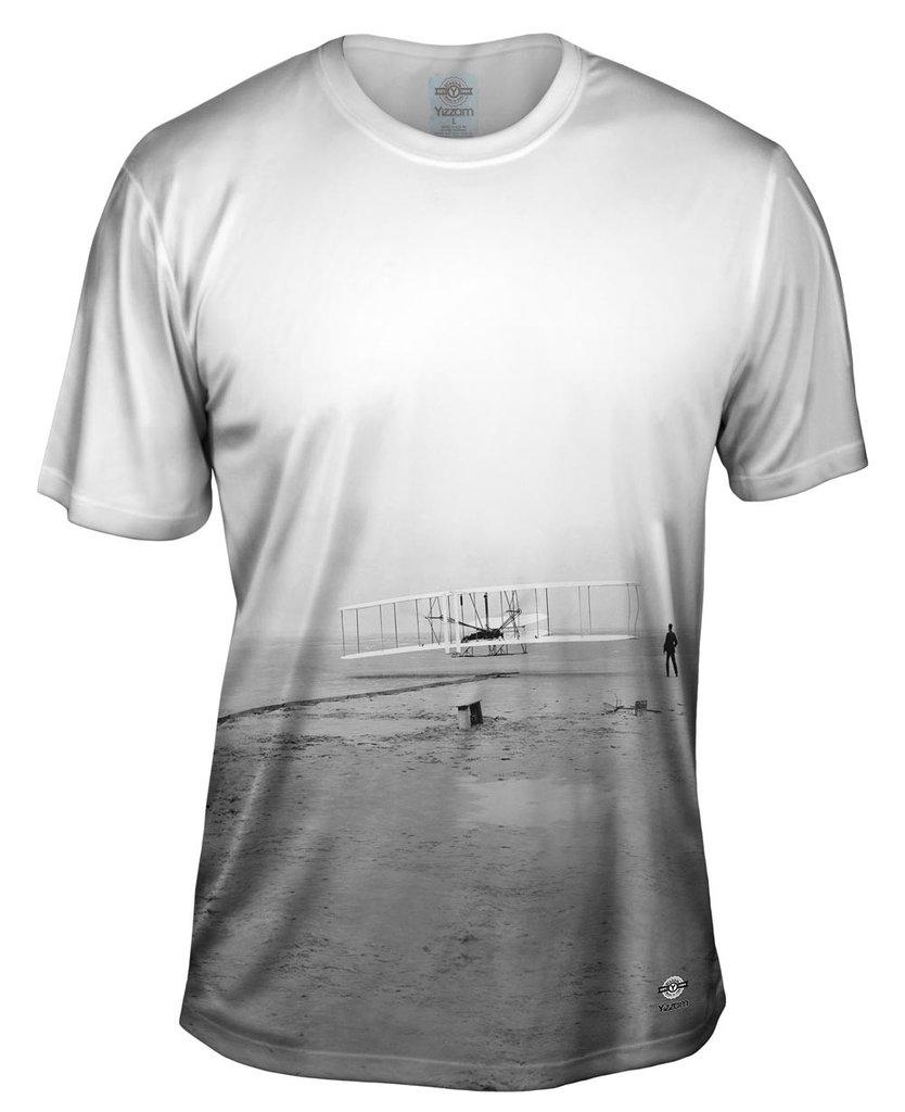 Kitty Hawk Wright Brothers Mens T-shirt
