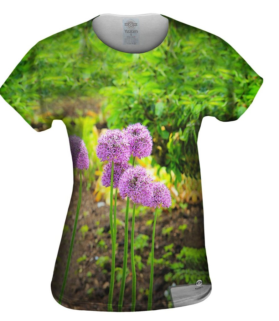 Pretty Purple Womens T-shirt