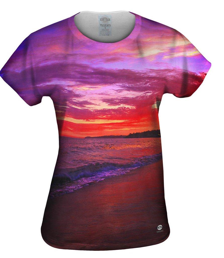 Malibu_Ocean_Sunset Womens T-shirt
