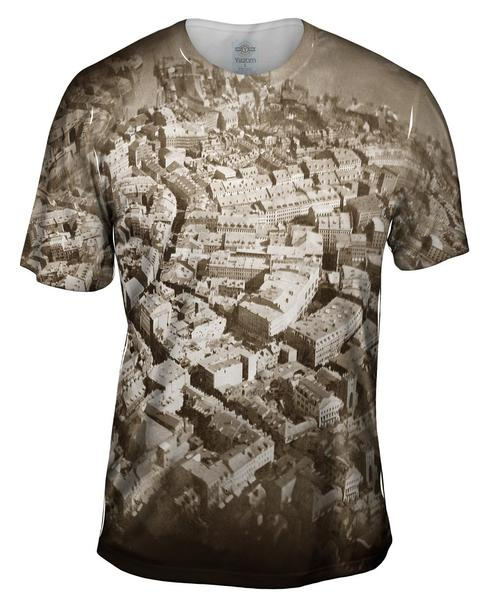 Boston from the Air 2014 mens T-Shirt
