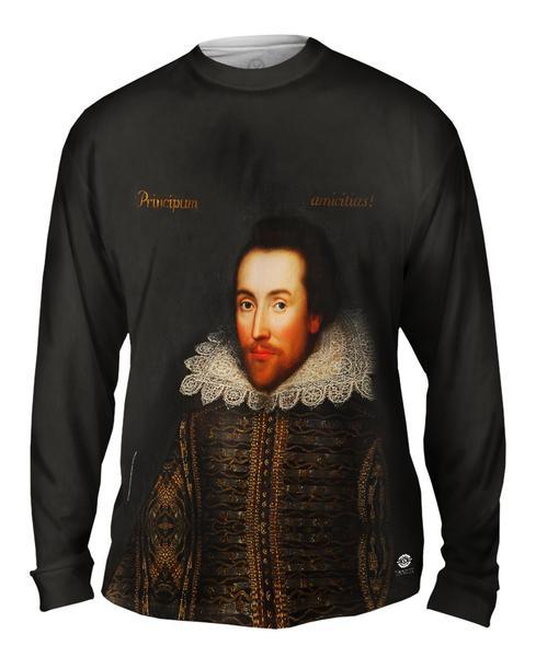Cobbe Portrait Of William Shakespeare Mens Long Sleeve T-shirt