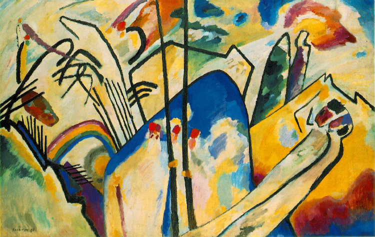 Kandinsky Studie fur Improvisation 8