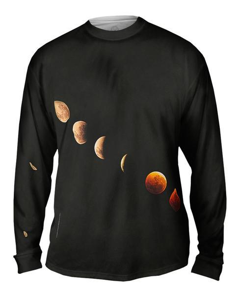 Lunar Eclipse Mens Long Sleeve