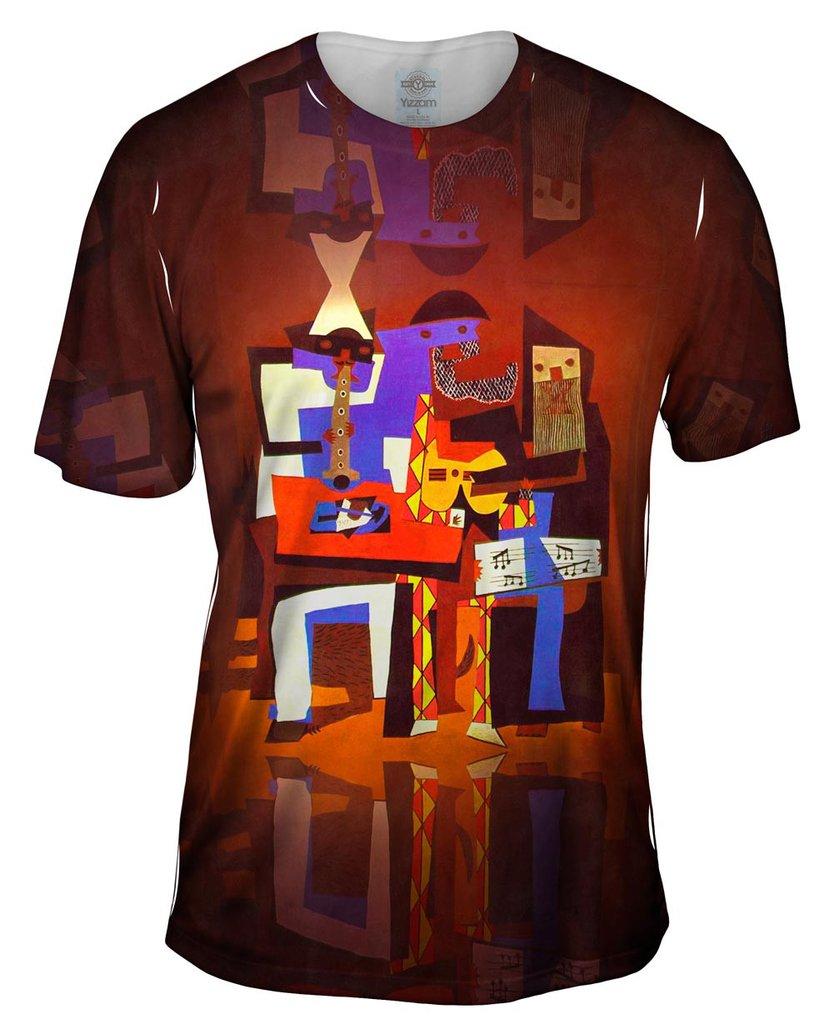 Picasso_Three-Musicians_Mens T-Shirt
