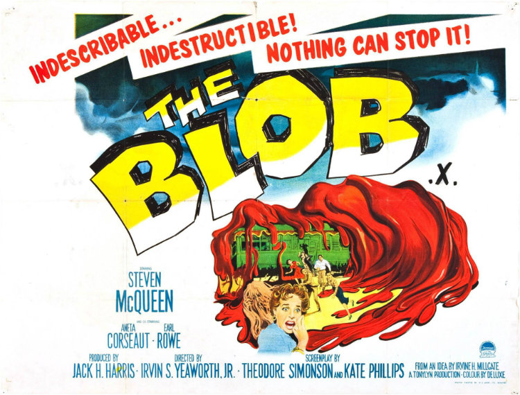 Blob Movie Poster
