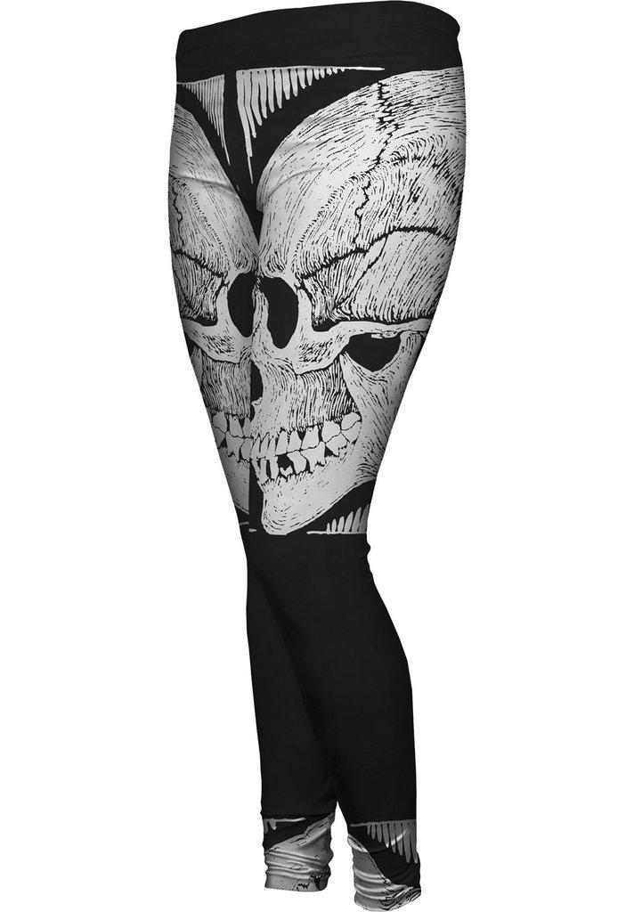 M.C.Escher Skull Womens Leggings
