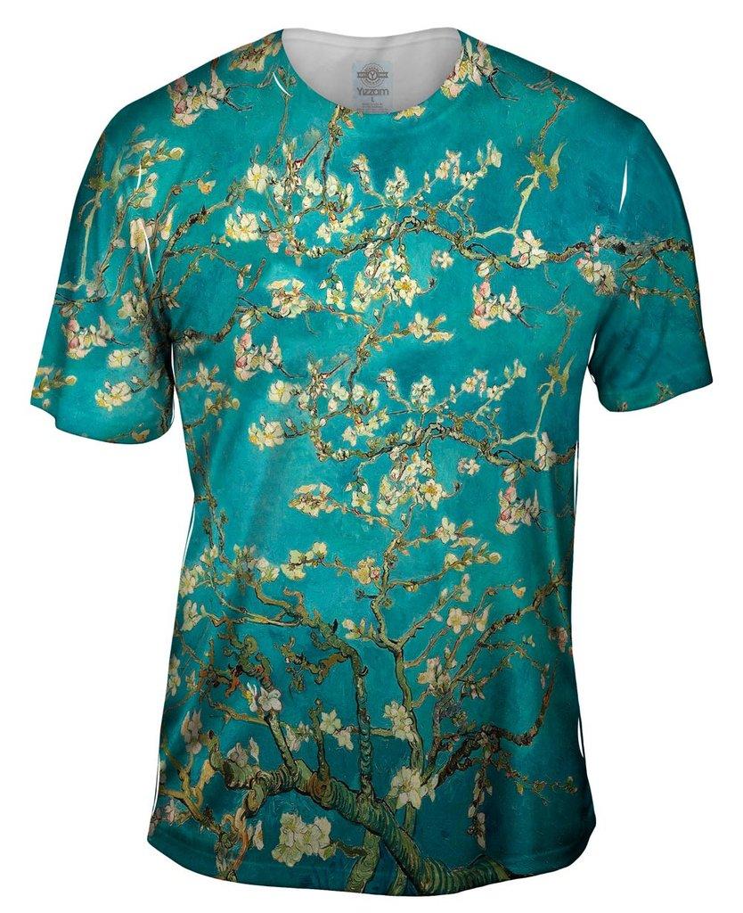 Van Gogh Blossoming Mens Tshirt