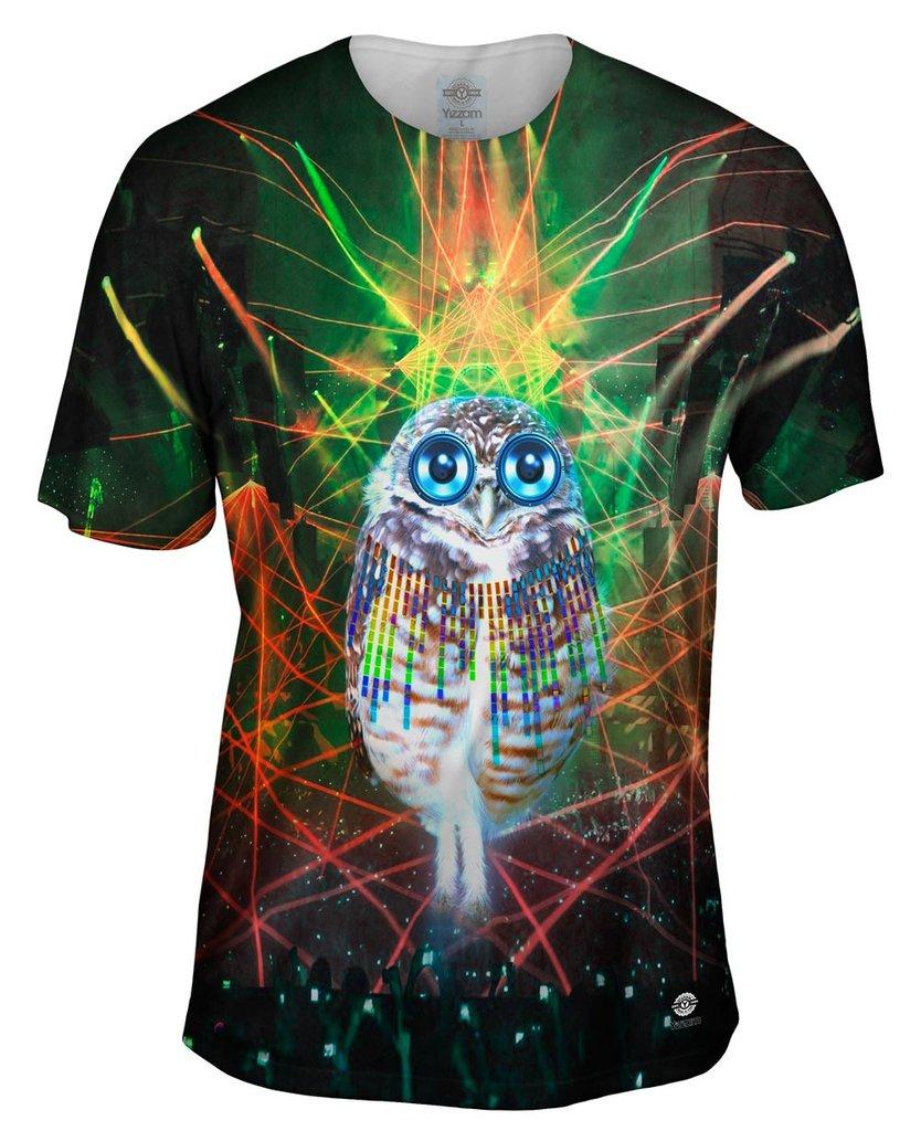 Edm Owl Mens Tshirt