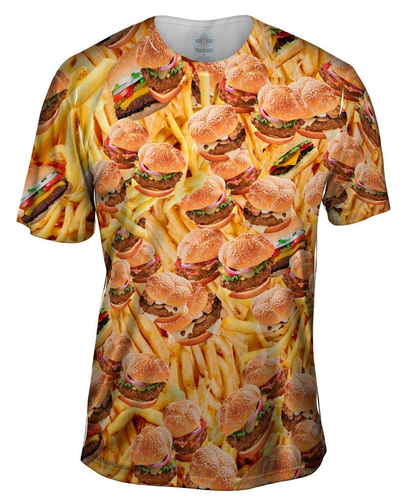 Hamburgers and Fries Mens T-Shirt