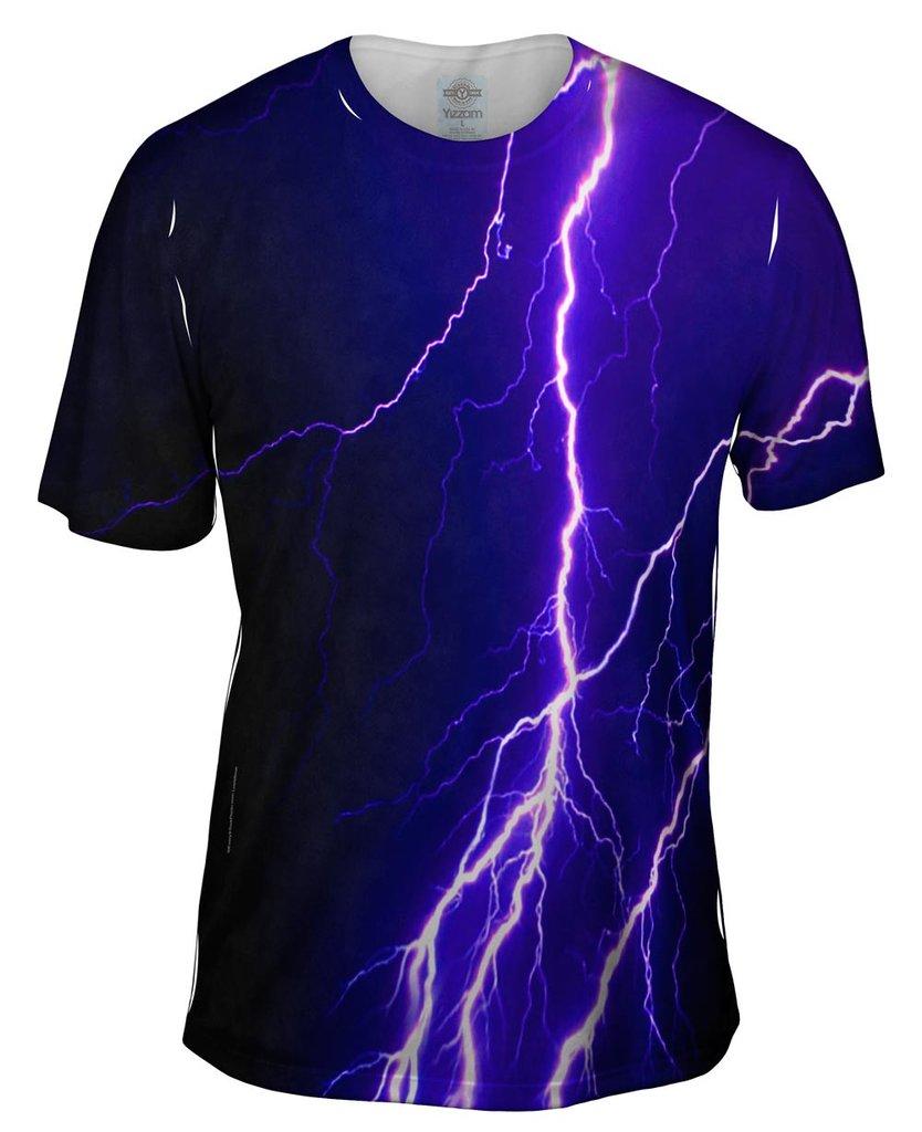 Lightning Storm Mens Tshirt