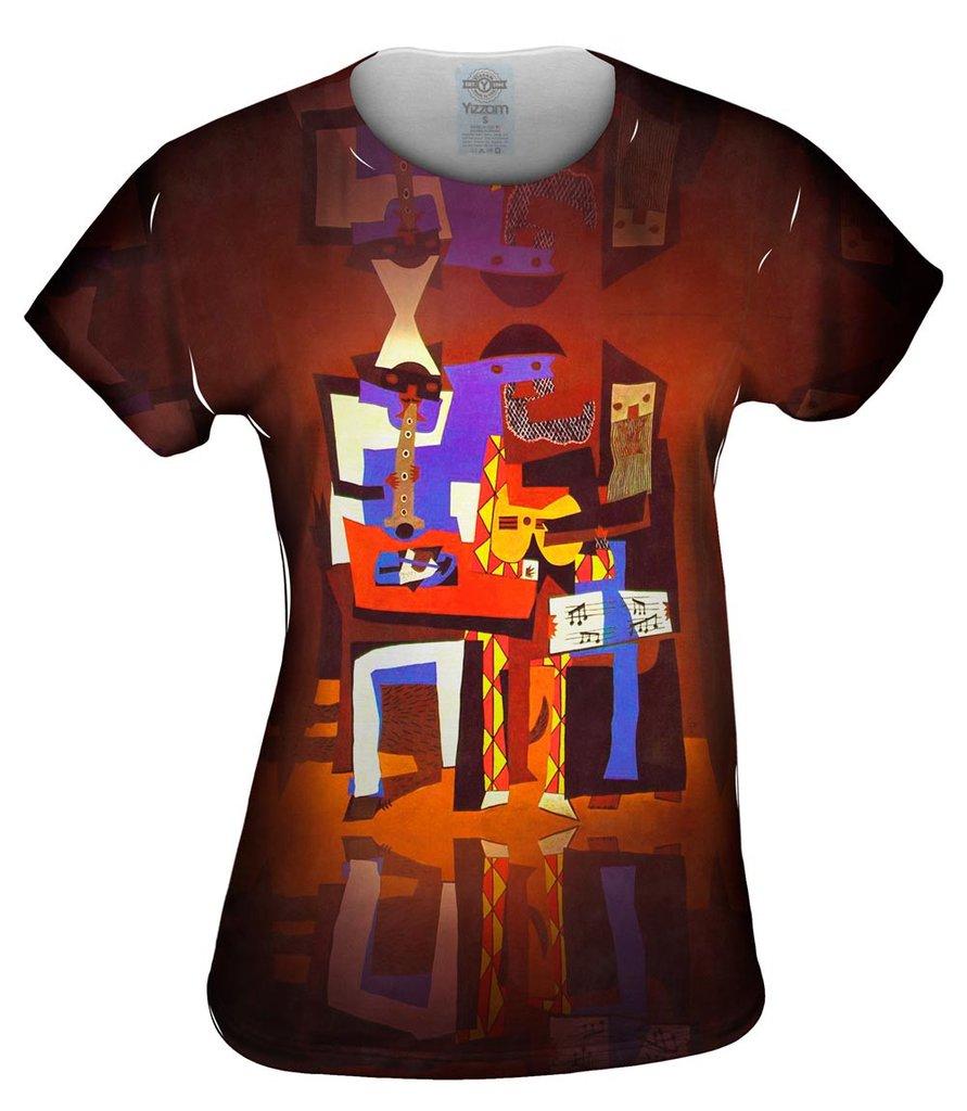 Picasso Three-Musicians Womens Tshirt