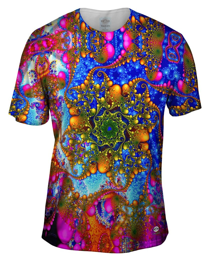 Psychedelic Curl Mens Tshirt