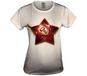 Soviet Pin Womens Top