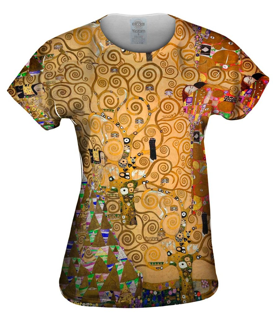 The Tree Of Life 1905 Womens Tshirt