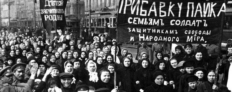 women russian revolution