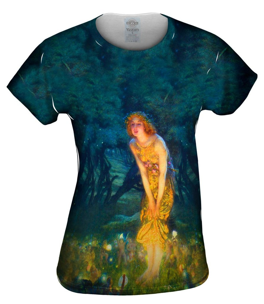 Edward Robert Hughes Midsummer Womens Tshirt