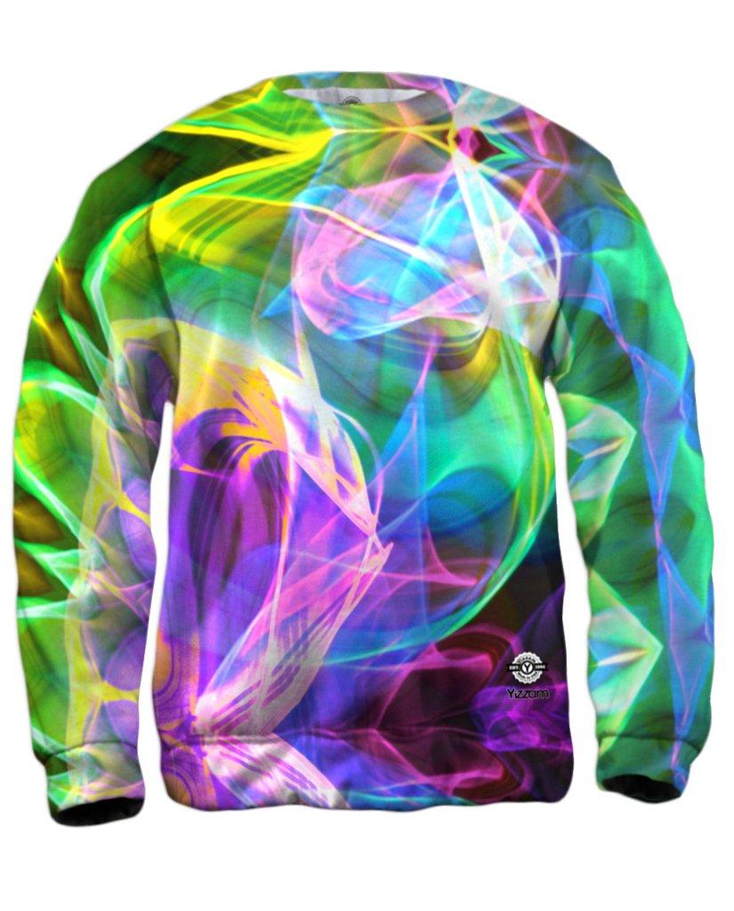Glowstick Swirl Mens Tshirt