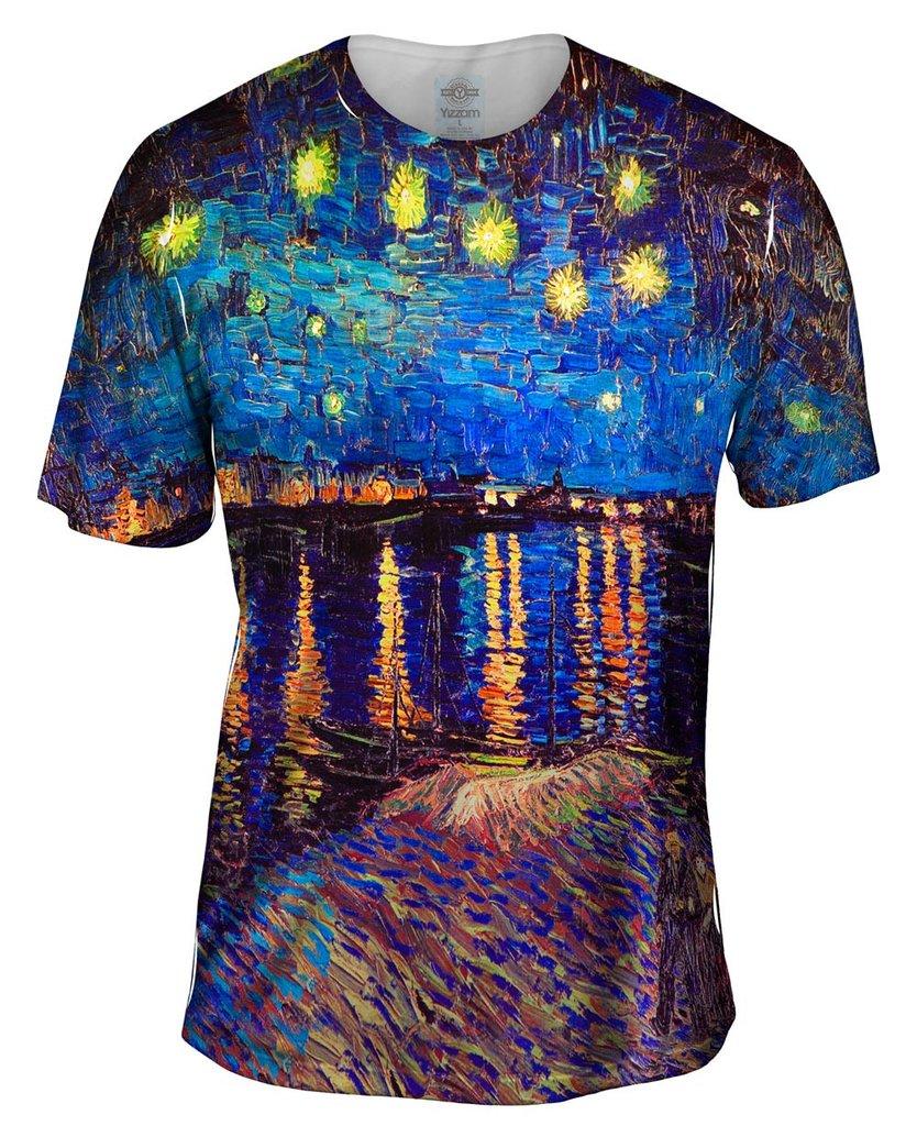 Van Gogh Starry Night Mens Tshirt