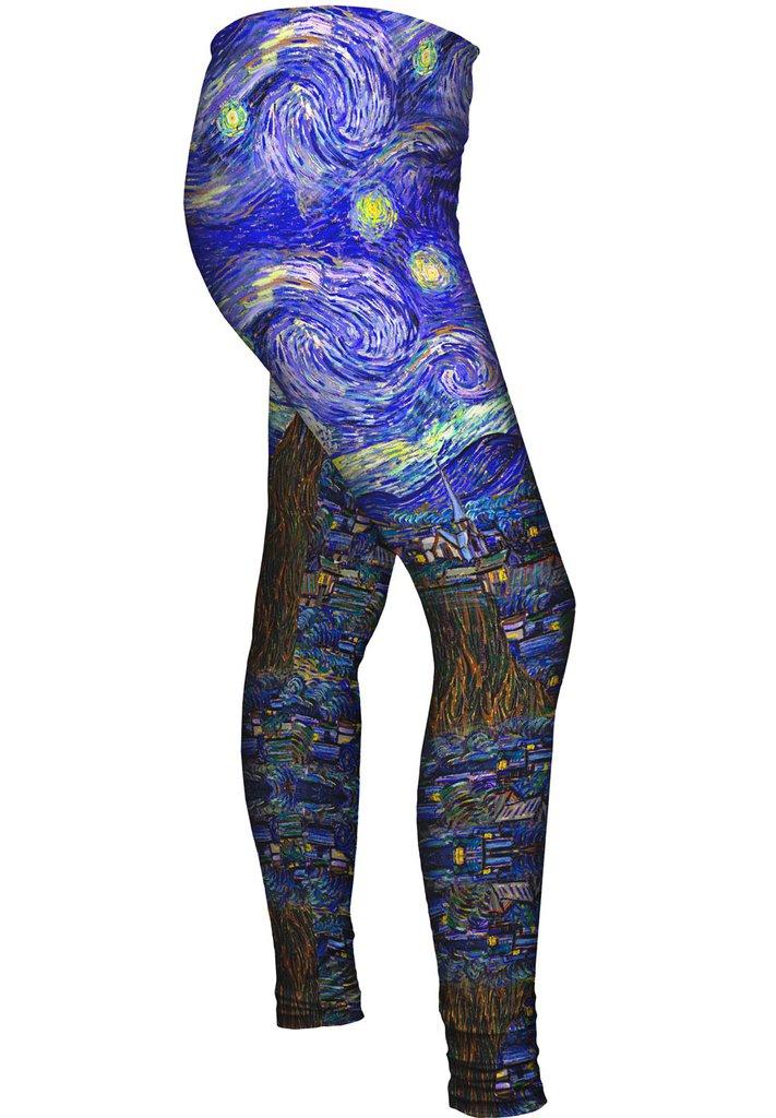 Van Gogh Starry Night leggings