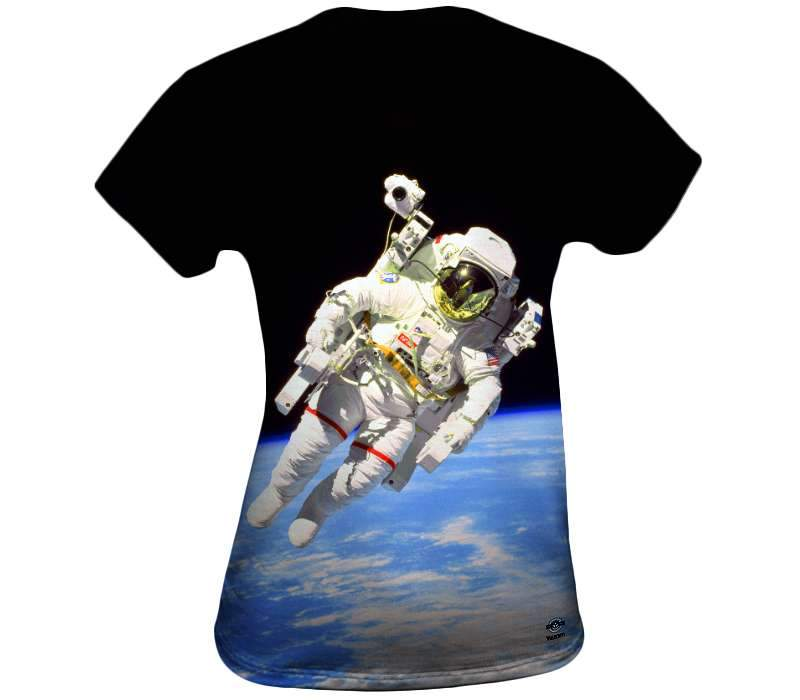 The Space Walk Womens Top