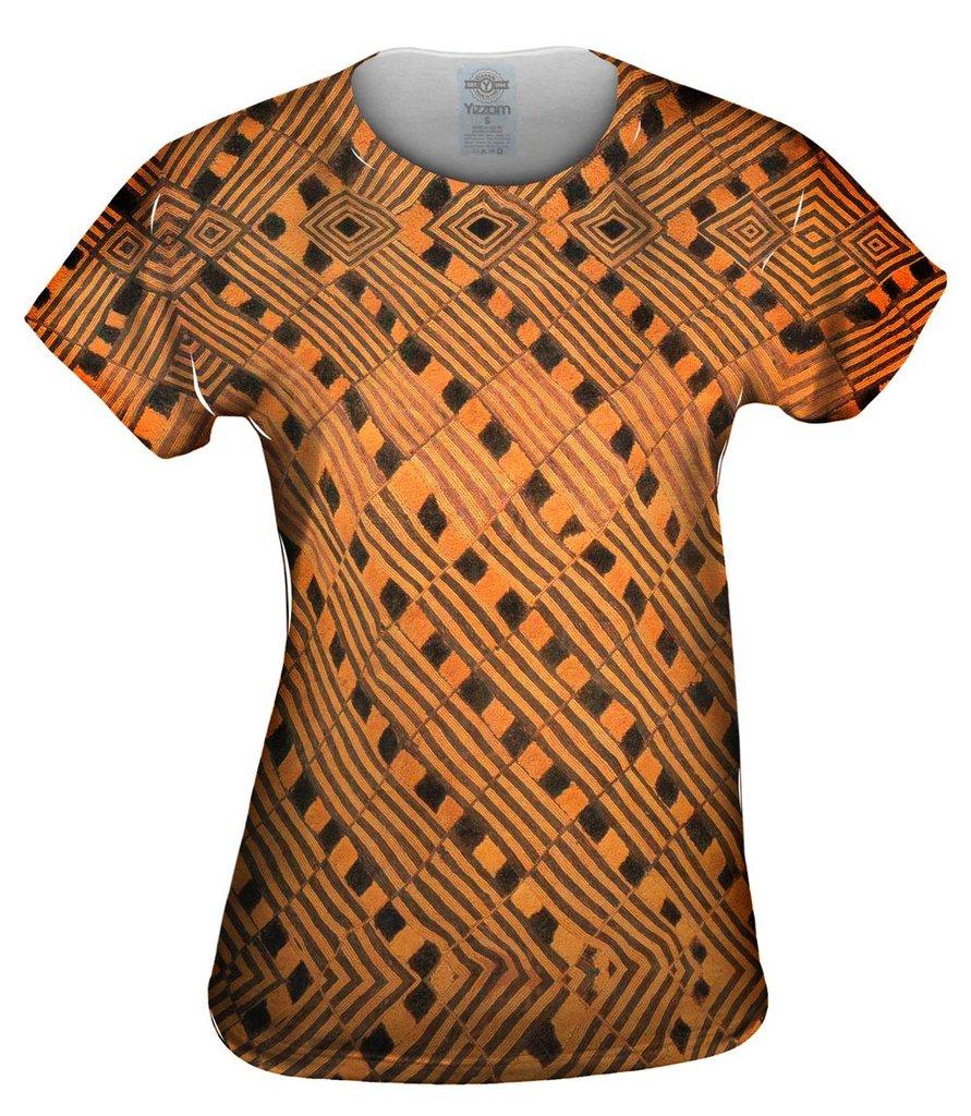 African_Tribal_Rain_Cloth_Womens Tshirt