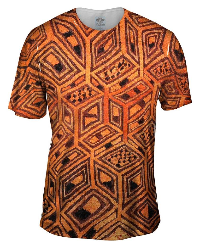 African Tribal Kuba Cloth Mens TShirt