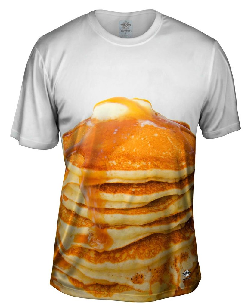 Pancake Stack Mens T-Shirt