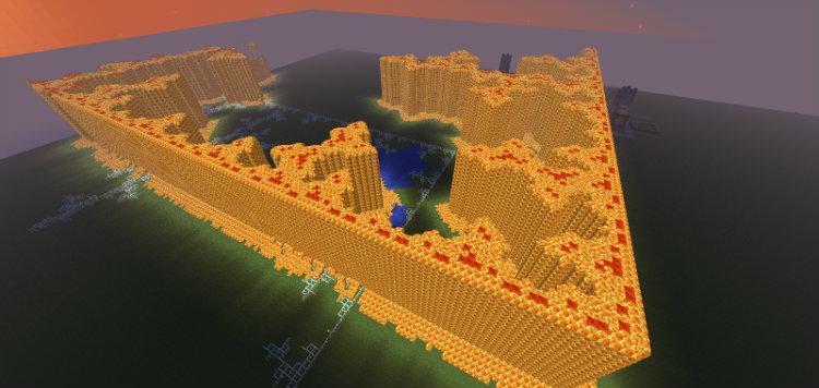 minecraft fractal
