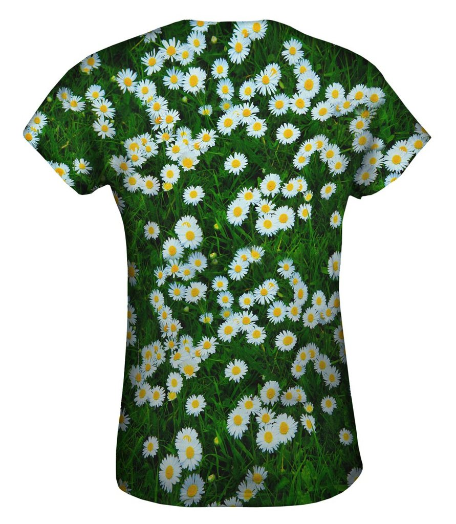 Field of Daisies Womens Tshirt