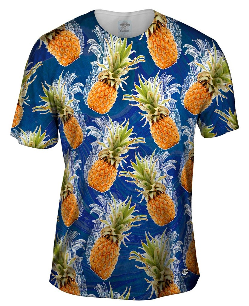 Summer Pineapple Mens Tshirt