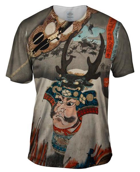 Samurai_Japanese Print mens front