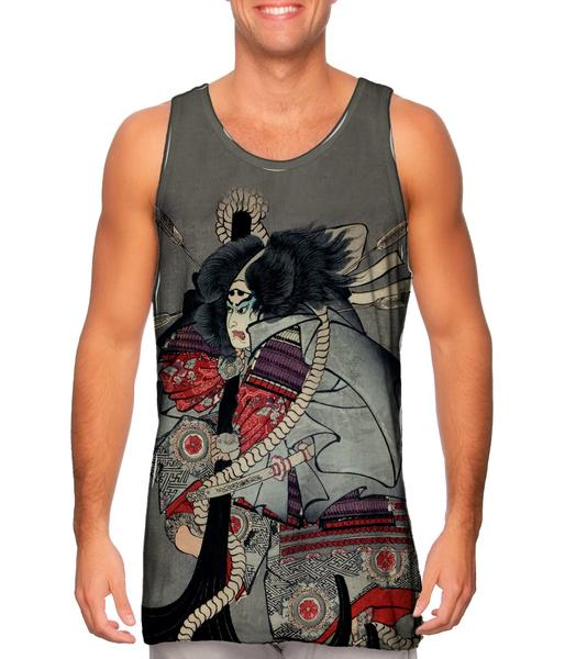 Ichiyusai_Kuniyoshi_Battle_Of_Dannoura_mens_tank_top