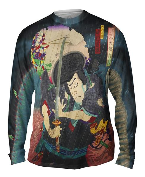 Dosetsu Vs Kenpachi mens long sleeve