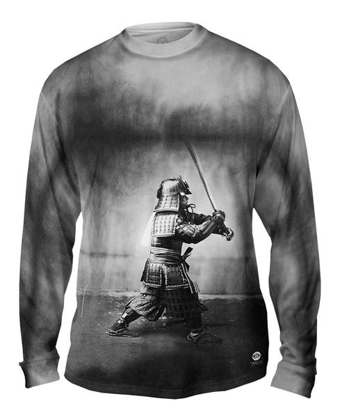 Japanese_Samurai_With_Sword_mens_long_sleeve
