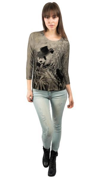 Bamboo_Cowboy_Panda_2014_womens_3-4_sleeve
