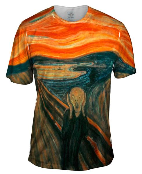 the scream men's t-shirt