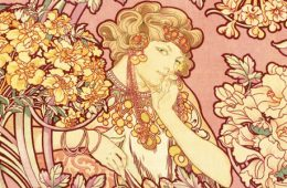 art nouveau clothing